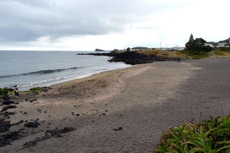 Beach, Sao Miguel, Azores, Portugal