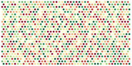 Hexagon grid background texture pattern colorful . Honeycomb vector background. Isometric geometry. Aspect Ratio 2:1 Ilustrace