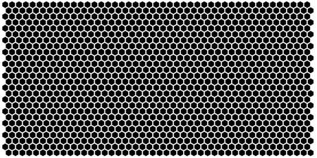 Hexagon grid background texture pattern colorful . Honeycomb vector background. Isometric geometry. Aspect Ratio 2:1 Illusztráció