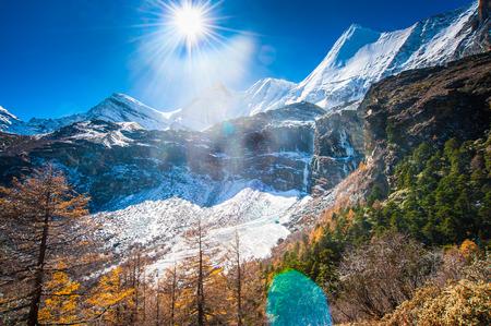 ding: Ya Ding Yangmai snow mountain