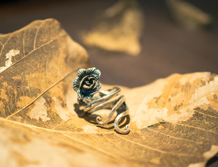 silver ring: Silver ring