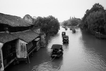 boatman: Wuzhen scenic