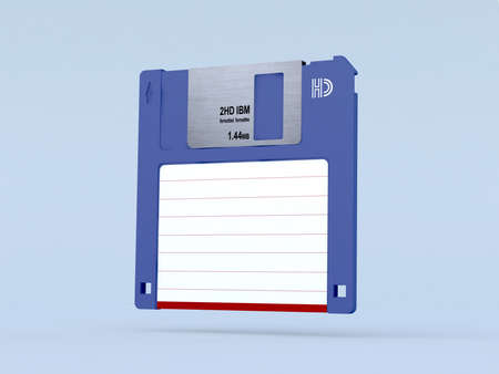 floppy disk 3d illustration illustration