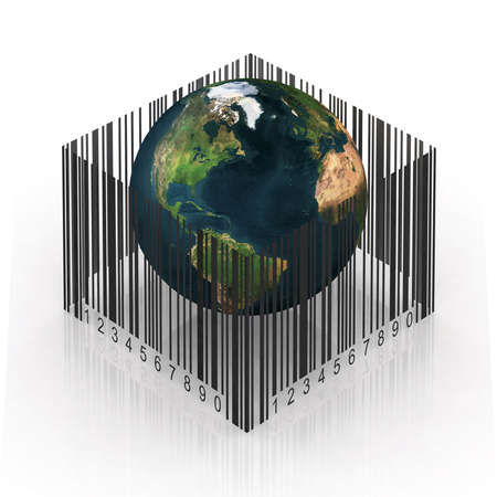 the world imprisoned by the bar code photo