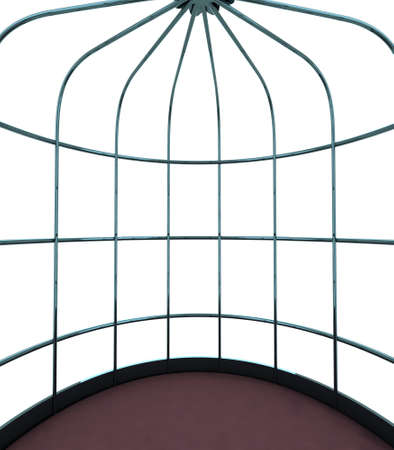 internal cage for birds, the concept of the prison