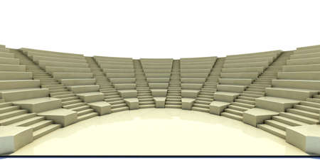 3d parliament, flight of steps, seat and stage photo