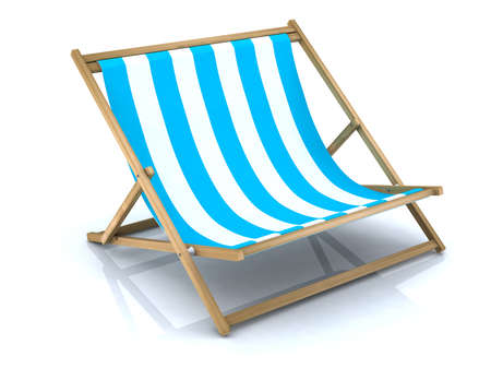 extra large: beach chair extra large  Stock Photo