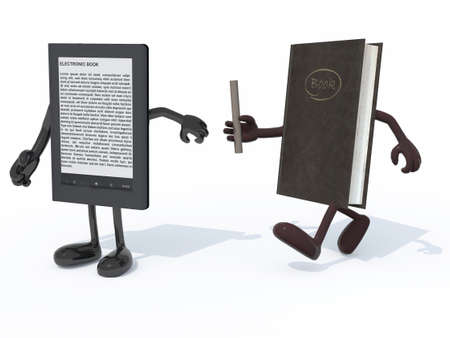 vs: relay between old book and electronic book reader, the concept of innovation tecnology