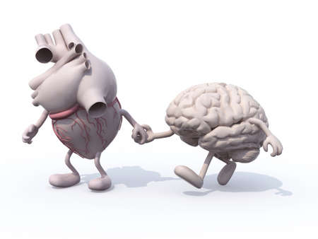 ramble: heart and brain that walk hand in hand, concept of health of walking