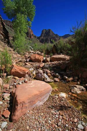 Hance Creek in Grand Canyon National Park, Arizona.