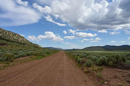 Die zerklüftete, unbefestigte Straße nach Toroweap im Grand Canyon National Park, Arizona.