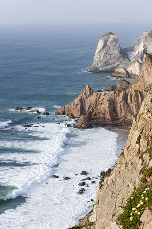 Cliff at the weastern point of Europe (Cabo da Roca)