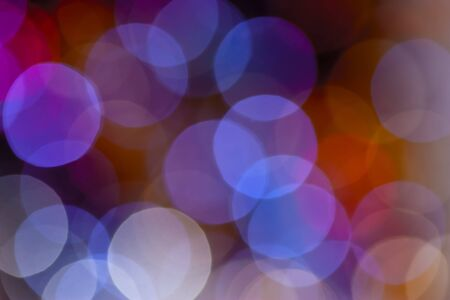 Beautiful and colorfull Light Bokeh for a background