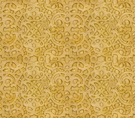 Islamic Pattern that can be tiled as a Background photo