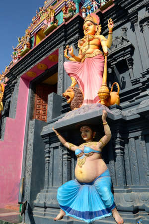 Island of Nainativu, Jaffna district  Sri Lanka   hindu temple of Naga Pooshani Amman