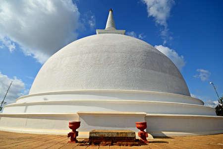 Mahaseya Dagoba in Mihintale  holy site in Sri Lanka, near Anuradhapura
