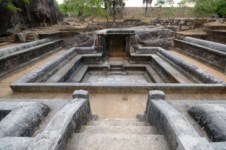 Anuradhapura archeological sites  Royal Pleasure Gardens near Tissa lake