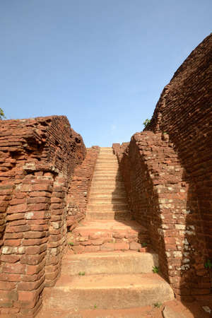 Sigiriya stone staircase, Sri Lanka photo