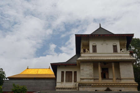 Temple Of The Sacred Tooth Relic, Kandy, Sri Lanka Stock Photo - 17075970