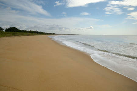 Coastline and desert beach in Yala National Park, south east Sri Lanka  Stock Photo - 17424657