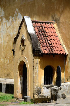 17th century: Galle Fort, Sri Lanka, Dutch colonial architecture from the 17th century