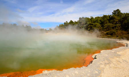 Champagne pool, Wai-O-Tapu Thermal Wonderland, New Zealand