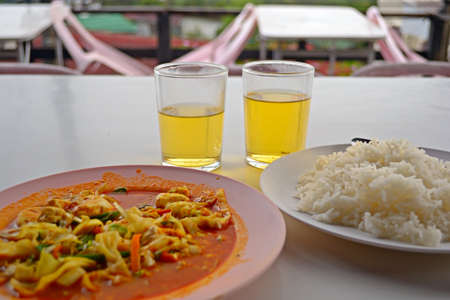 Thai and chinese cuisine in Mae Salong, Northern Thailand