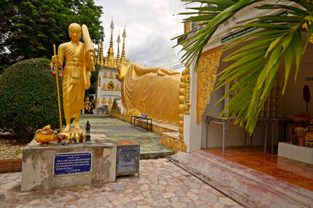 Temples and buddhist shrines of Phrae, Thailand  photo