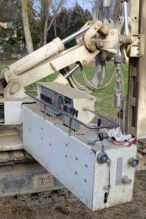 Drilling equipment for geotechnical engineering purpose  photo