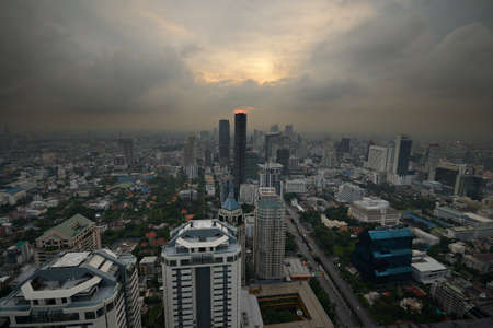 Aerial view of the Bangkok photo