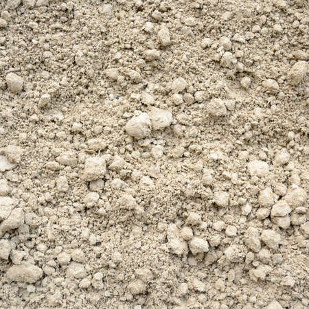 Natural silty soil background, color gray