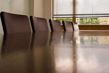 Conference room bable shot in natural light
