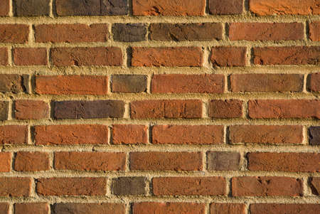 Brick wall from the Guildford Cathedral in England.
