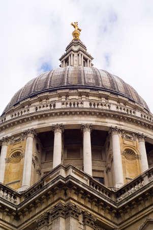 Cath�drale St Paul, Londres, Royaume-Uni.  Banque d'images
