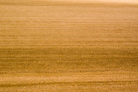 abstracted: Freshly moved soil abstracted as background. Stock Photo
