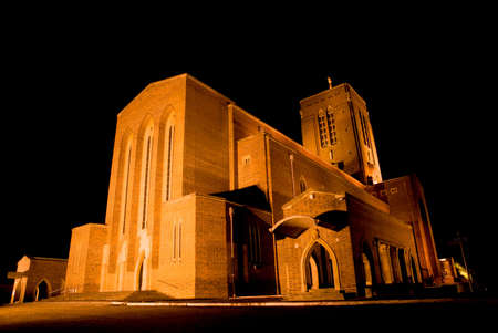 Guildford is the only cathedral to be built on a new site in southern England since the Reformation. Stock Photo