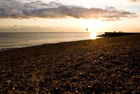 Coucher de soleil � Brighton, Susses, UK
