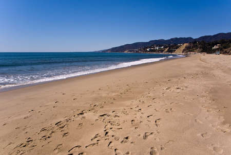 Santa Monica Beach, California, USA Stock Photo