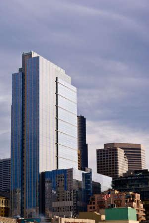 Seattle skyline in broad daylight photo