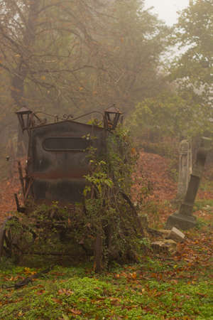 hearse: Old hearse