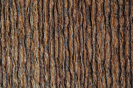 Closeup of a sofa cotton cloth