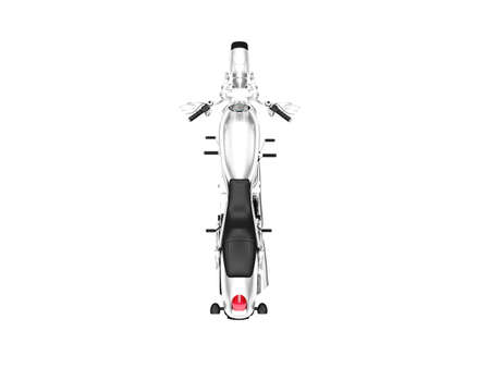 isolated motorcycle on a white background photo