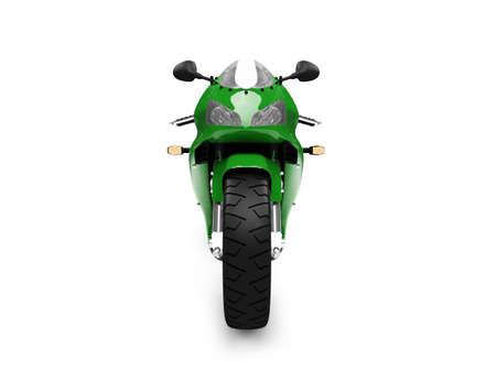ciclos: motocicleta aisladas sobre fondo blanco