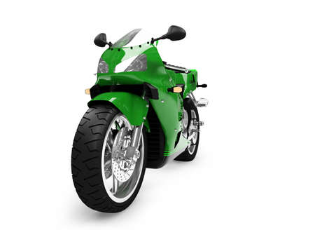 isolated motorcycle on a white background Stock Photo - 1214630