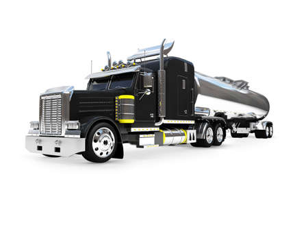 isolated big car on a white background photo