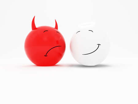 Good and Evil Stock Photo - 1214714
