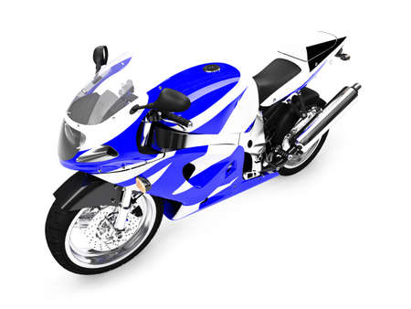 isolated motorcycle on a white background Stock Photo - 1214716