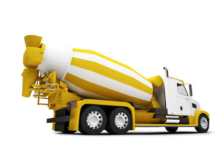 roadster: isolated concrete mixer