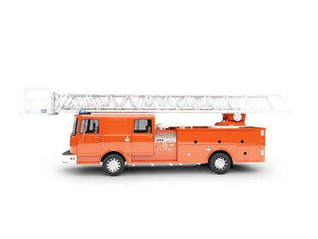 firetruck: firetruck on white background