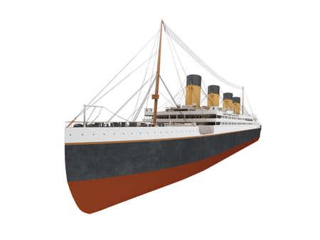 aislados buque de l�nea blanca m�s